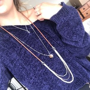 Buckle Layered Necklace
